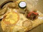 Knitting bag, festive fudge and bath bombs for my mother in law