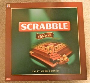 And in the evening, hubby absolutely trounced me at Scrabble..!!
