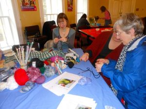 The crochet and knitting workshop