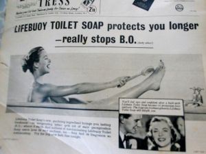 Who knew B.O had already been invented in the '50's..?!