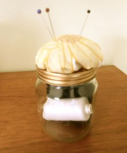 Jam Jar Pincushion