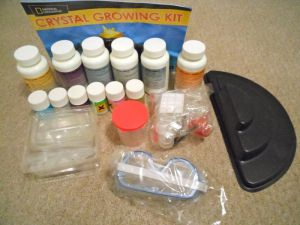 A grow your own crystal kit