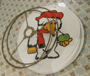 A Wombles lampshade kit I picked up at a flea market ages ago