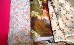 ..and more lovely fabric!