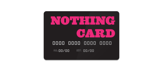 nothing-card