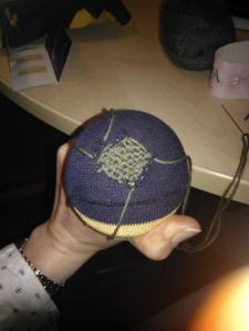 My 1st ever attempt at darning