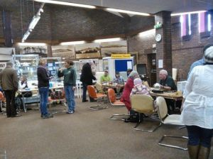 A successful afternoons fixing at Warminster's third Repair Cafe