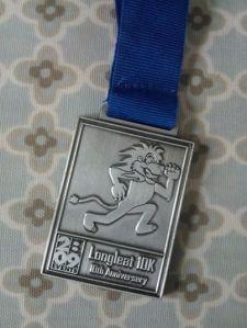 My Longleat 10k medal :)