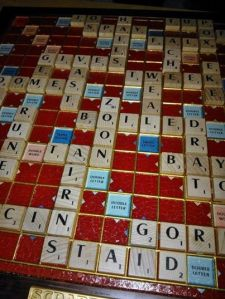 Scrabble night-it's just how we roll...