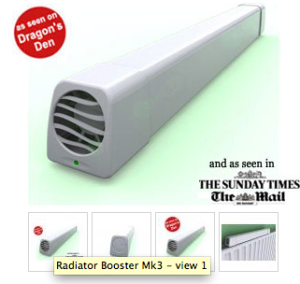A Radiator Booster Fan