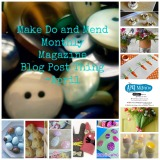 Make Do and Mend Monthly Magazine Blog PostThing-April