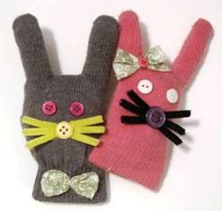 Glove bunnies