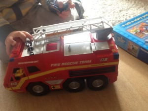 Fire engine-£2