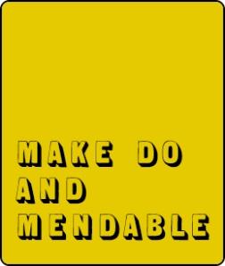 yellow box - black sans serif shaded font