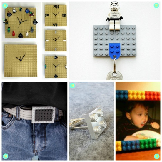 Lego collage numbers