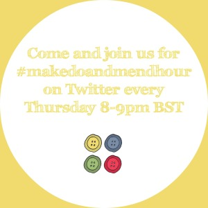 #makedoandmendhour poster