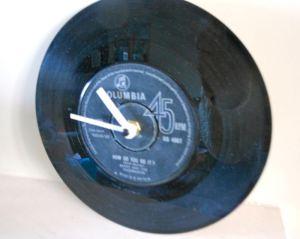 Vinyl LP clock