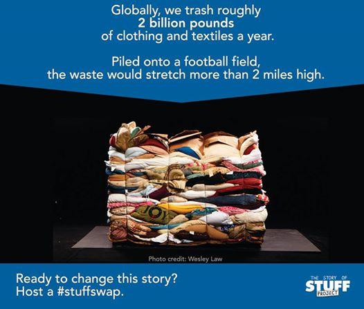 Football field waste