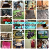 #makedoandmendhour 2nd October