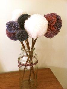 Pompom flowers1