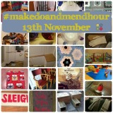 #makedoandmendhour 13th November