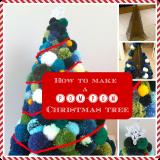 How to Make a Pom-Pom ChristmasTree