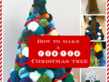 How to Make a Pom-Pom Christmas Tree
