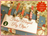 Last Minute Gifts-Fridge Magnet Peg Clips
