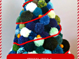 Our Pom-pom ChristmasTree!