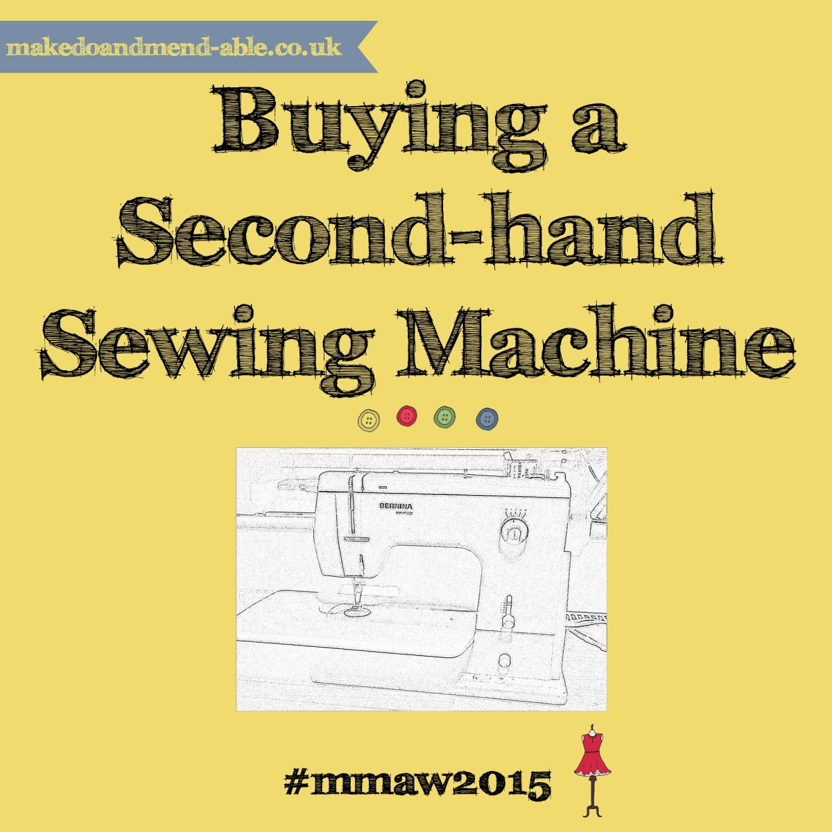 Make Me a Wardrobe-sewing machines | My Make Do and Mend Year