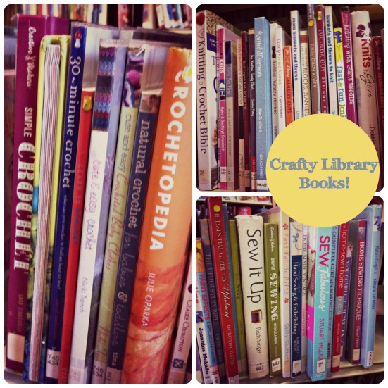 Crafty Library Books