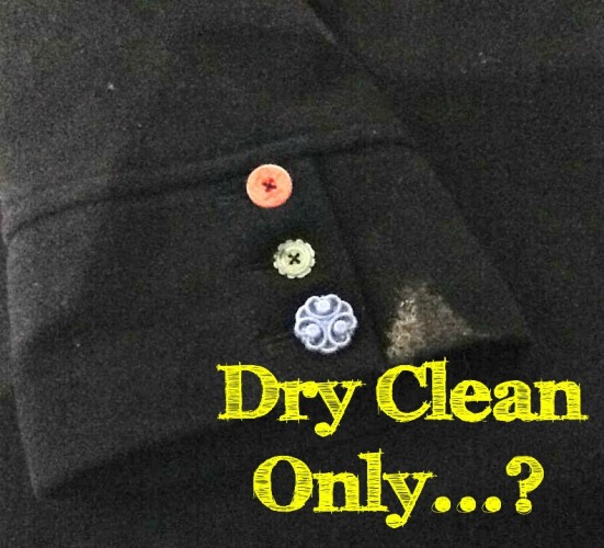 Dry Clean only title page