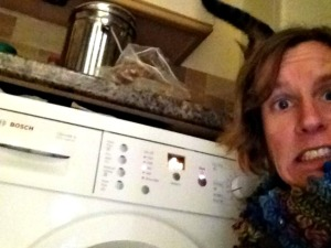 """My """"I've just put my Dry Clean Only coat in the washing machine"""" selfie face"""