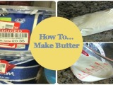 Homemade Butter!