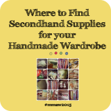 Make Me a Wardrobe 2015-Secondhand Supplies