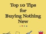 Top Ten Tips for Buying Nothing New