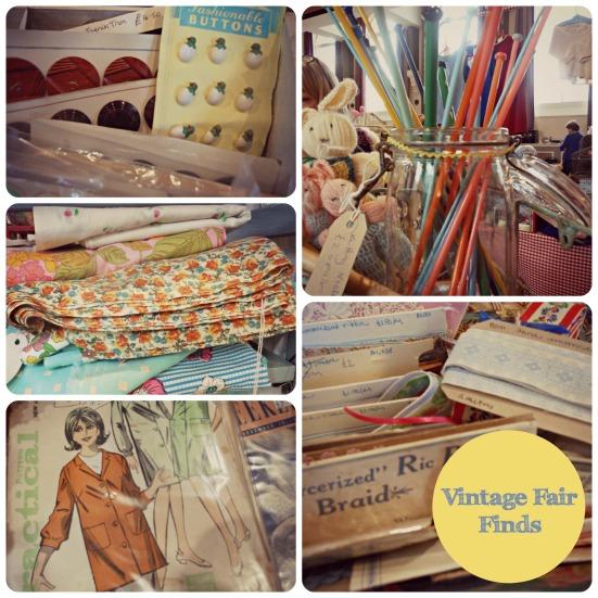 Vintage Fair Finds