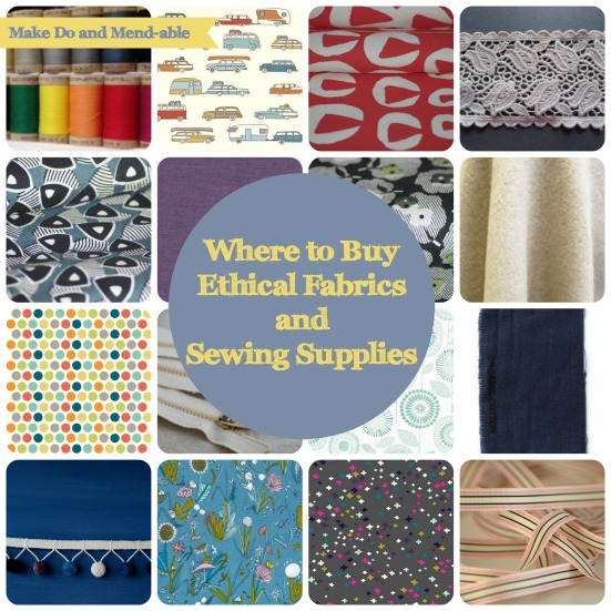 Where to Buy Ehtical Fabric