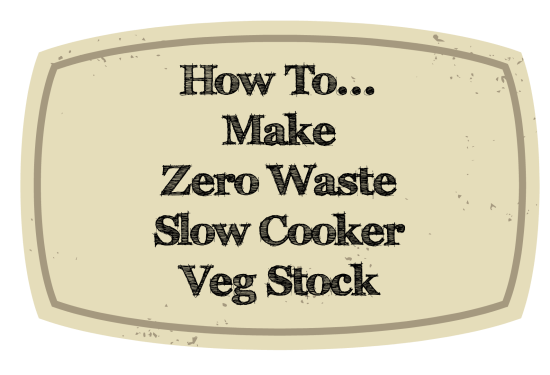 Zero Waste veg stock