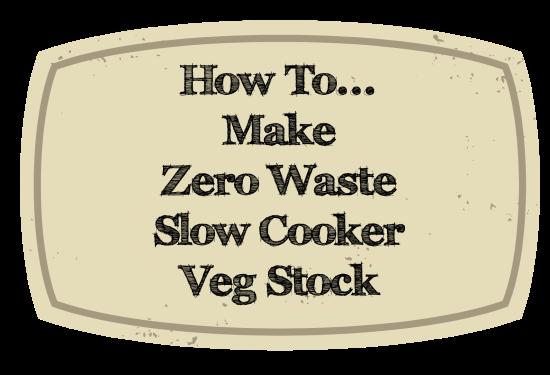 Zero Waste veg stock