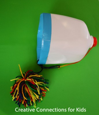 Milk Jug Toss from Creative Connections for Kids