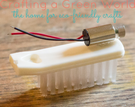 A DIY hexbug from Crafting a Green World!
